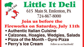 Emlenton Merchants Offer Specials-before and after the Fireworks in Emlenton