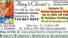 Amy's Closet, Inc. - Visit our Online Store - Holiday Sale