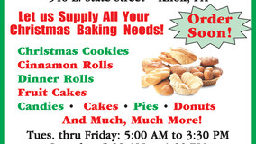 Knox Bakery - Let Us Supply Your Christmas Baking Needs