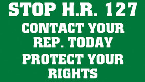 Stop H.R. 127