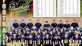 Keystone H.S. Football Team Photo