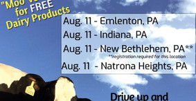 Register for Free Dairy Products