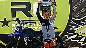 Six-Year-Old Kaverick Stewart Wins Mid-East Regional Championship