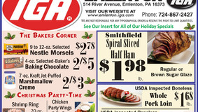 Home For The Holidays - Special at the Emlenton IGA