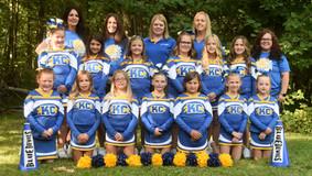 Karns City Youth - Junior Cheerleaders