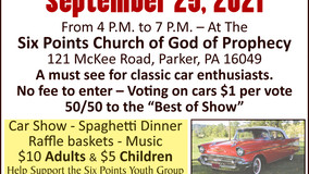 1950's Car Show - Six Points Church of God of Prophecy - Sept. 25th