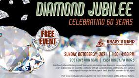 Brady's Bend Underground Storage - Diamond Jubilee - Celebrating 60 Years - Free Event