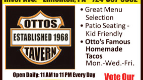 Otto's Tavern & Grille - Great Menu & Famous Homemade Tacos