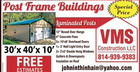 VMS Construction - Post Frame Buildings