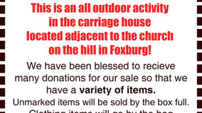 Rummage Sale - Memorial Church of Our Father - Foxburg