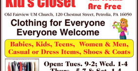 Kids Closet - Clothing for Everyone - Free
