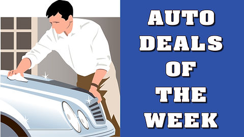 My Progress News Auto Deals of the Weeks