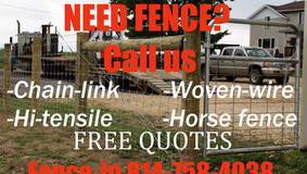 Need Fence? Call Us - Free Quotes