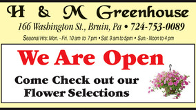 H & M Greenhouse - Now Open in Time for Mother's Day