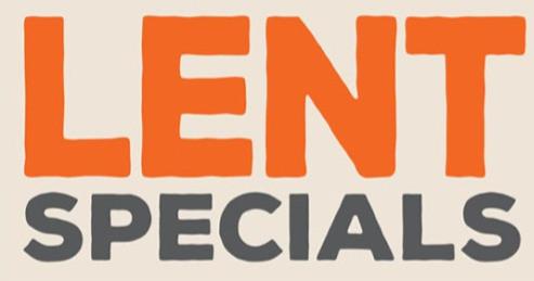 Lent Specials