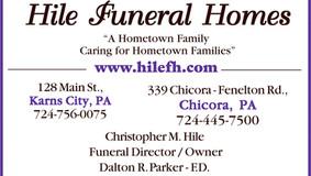 Sponsor: Hile Funeral Homes