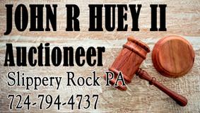 John R. Huey Auction - James W. Stitt Estate Auction - Oct. 2nd