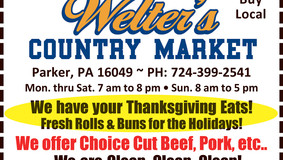 Welter's Country Market - Thanksgiving Eats Specials