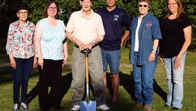 Groundbreaking For Bruin Area Veterans' Memorial