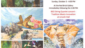 Red Brick Galley - Fall Exhibit Starts Sept. 25th
