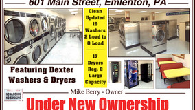 Berry's Laundromat - Now Open  With New Equipment