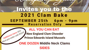 Allegheny Grille - Annual Clam Bake - Sept. 25th - Reservations Required