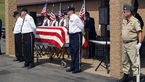 VFW Post 7073 & American Legion Post 598 of Parker Hold Memorial Service