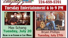 Allegheny Grille - Tuesday Entertainment - Richard Eustice