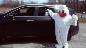 Paul W. Wood V.F.W.'s Easter Bunny Visit