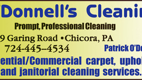 Sponsor: O'Donnell's Cleaning