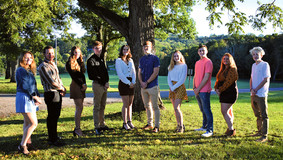 2021 A-C Valley Homecoming Court