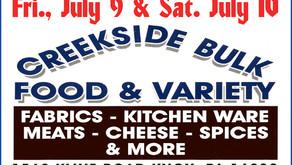 Creekside Bulk Food & Variety - Customer Appreciation Days