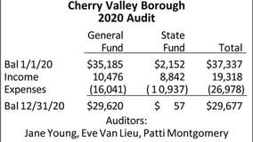 Cherry Valley Borough 2020 Audit