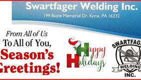 Swartfager Welding, Inc. - Happy Holidays