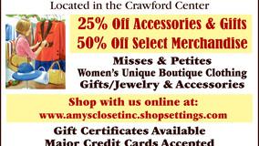 Amy's Closet, Inc. - Visit our Online Store - Stimulus Sale