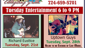 Allegheny Grille - Tuesday Entertainment - Richard Eustice - Sept. 21