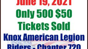 Knox, American Legion Riders - Pot 'O Gold Raffle