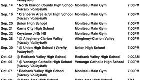 Moniteau H.S. Girls Varsity Volleyball