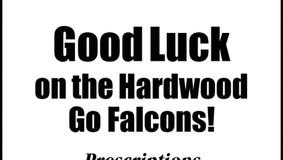 Linmas Drugs, Inc. - Good Luck ACV Falcons