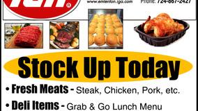 Emlenton IGA - Fresh Meats - Deli Items - Baked Goods