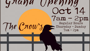 The Crow's - Bakery & Gifts - Grand Opening
