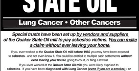 Did you work at a Quaker State Oil Plant Before 1982?