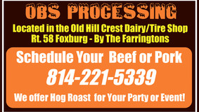 OBS Processing - Schedule Your Beef or Pork