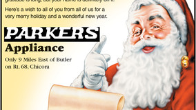 Parkers Appliance - Merry Christmas To All Our Good Neighbors