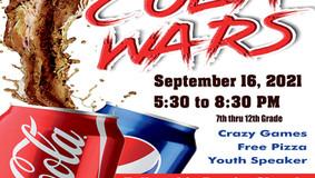 Cola Wars - Fellowship Baptist Church - Sept. 16