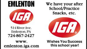 Emlenton IGA - Wishing You Success This School Year