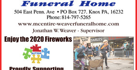 Sponsors: Knox Horsethief Days Fireworks - Sat. Aug. 22 at Dusk