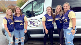 KCHS Lady Gremlins Stepping Up to the Plate by Stuffing the Van