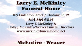 Larry McKinley F.H. - Sponsor for National Breast Cancer Awareness Month
