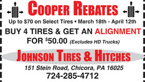 Johnson Tire & Hitches